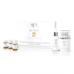 APIS Re-Vit C multifunkcyjny zabieg złuszczający z witaminą C, kwasami i retinolem