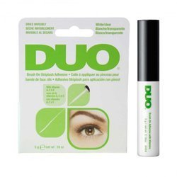 ARDELL DUO BRUSH ON CLEAR ADHESIVE VITAMIN KLEJ DO RZĘS 5g