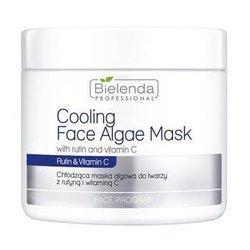 BIELENDA chłodząca maska algowa do twarzy z rutyną i witaminą C 190g
