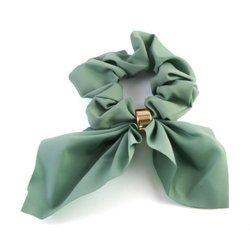 Gumka do włosów z ozdobną wstążką (miętowy)