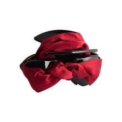 Klamra do włosów kokarda (czerwień)