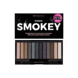 Makeup Revolution 12 cieni Iconic Smokey