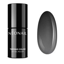NEONAIL 5186-7 Lakier Hybrydowy Termiczny 7,2 ml Black Russian