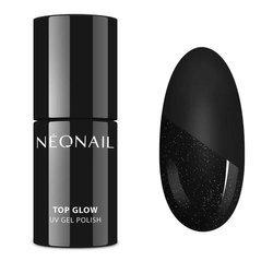 NEONAIL 7241-7 Lakier Hybrydowy 7,2 ml Top Glow Silver