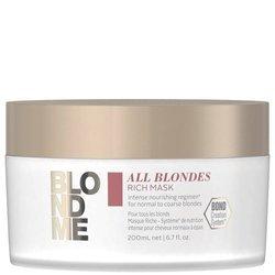 SCHWARZKOPF BlondMe All Blondes Rich Mask intensywnie odżywcza maska 200ml