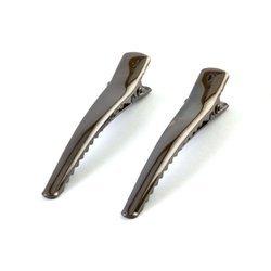 Spinka do włosów metalowa - 2 szt. (grafitowy)