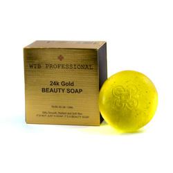 WTB Professional 24K Gold Beauty Soap mydło do twarzy i ciała 100g