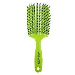 WTB Professional szczotka do włosów płaska zielona - large
